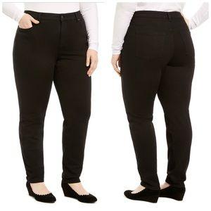 Charter Club Black Skinny Jeans Plus Size 22W